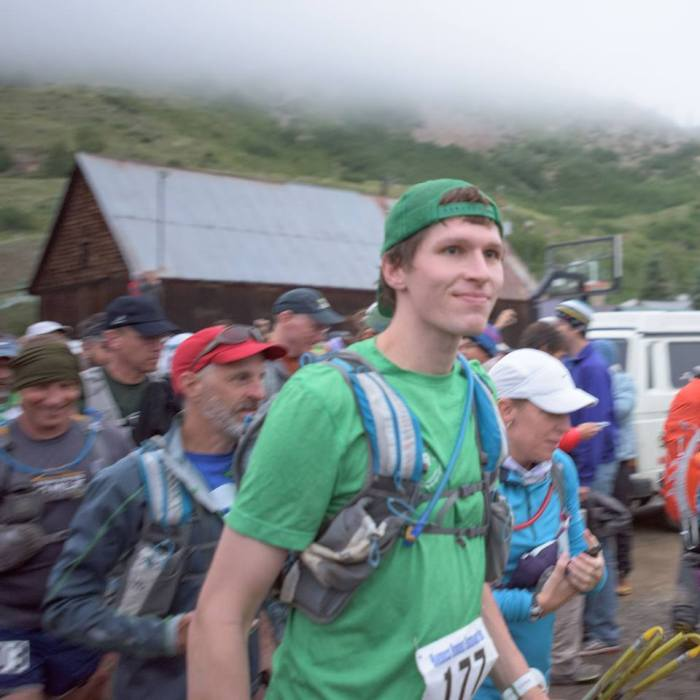 Standing at the start line wondering if I left the oven on.  (Photo credit: Jorge Rufat-Latre)