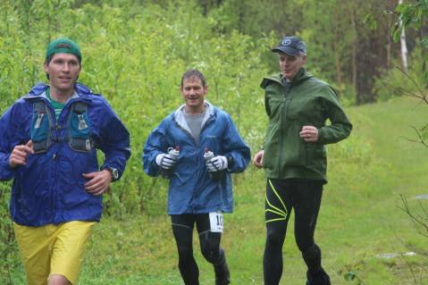 Trail running rain shorts by Derelicte.