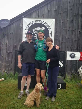 Finish photo with the rents and Fishsticks reincarnate.